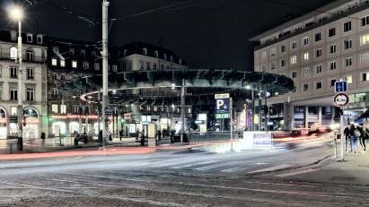 Strasbourg Lichtstreifen