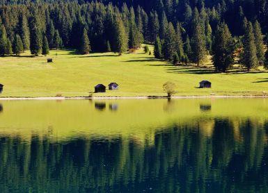 Schönheit der Bergwelt