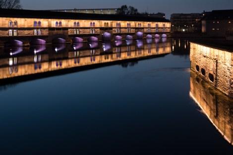 Blaue Stunde in Strassburg