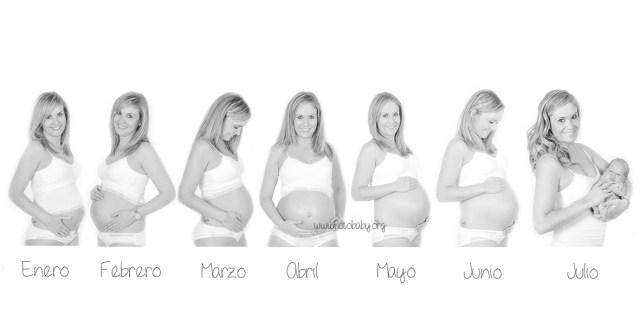 Seguimiento Fotográfico de Embarazo: Reportaje profesional Granada