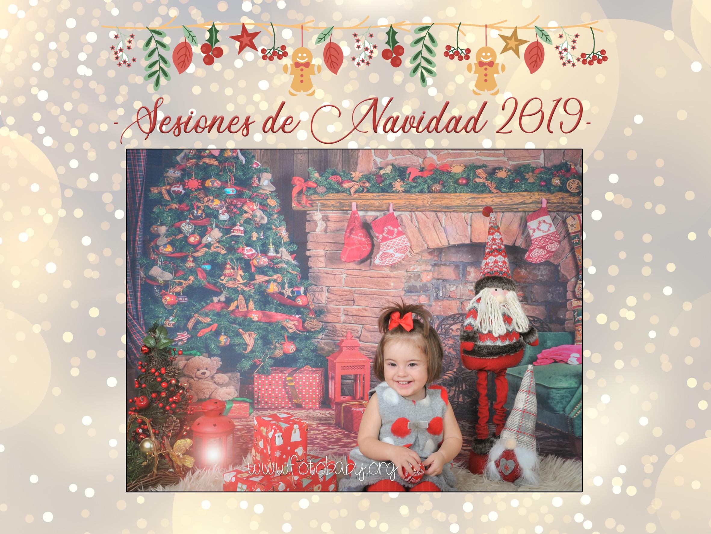Sesiones de Navidad en Granada FotoBaby fotografos estudio reportajes