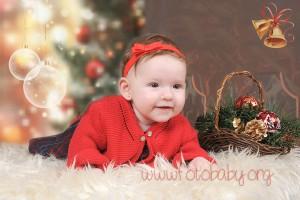 Fotografías de estudio para Navidad en Granada FotoBaby Fotografa infantil bebes embarazo fotografos (10)