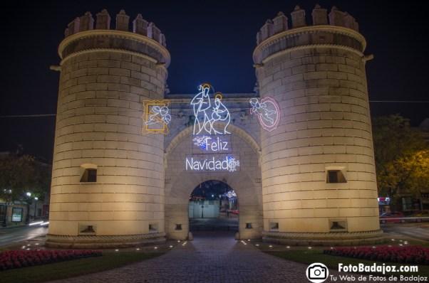 Fotos de Badajoz - navidad en puerta palma