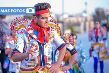 Candelas de la Margen Derecha del Carnaval de Badajoz 2016