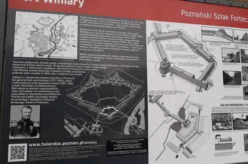 Mapa - Fort Winiary