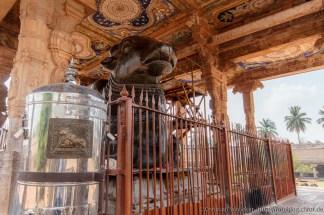 Nandi Bulle Brihadishvara Tempel