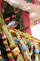 Vorbereitungen für das Hoysala Mahotsava