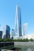 One World Trade Center und 9/11 Memorial, New York, 2016