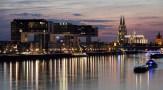 Köln, Rheinauhafen und Dom, 2017