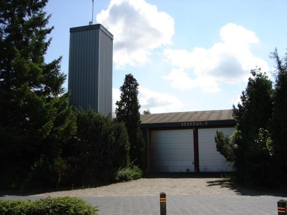 voormalig brandweer garage