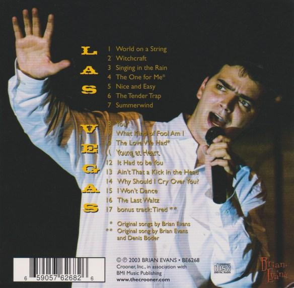 brian evans cd back