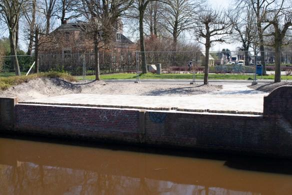 Bestraten plek Praothuus (april 2021)