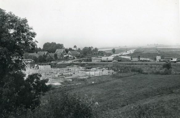 bouw gemeentehuis 1955