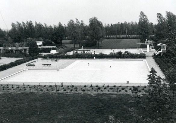 hendrik oosterhuis zwembad 1963