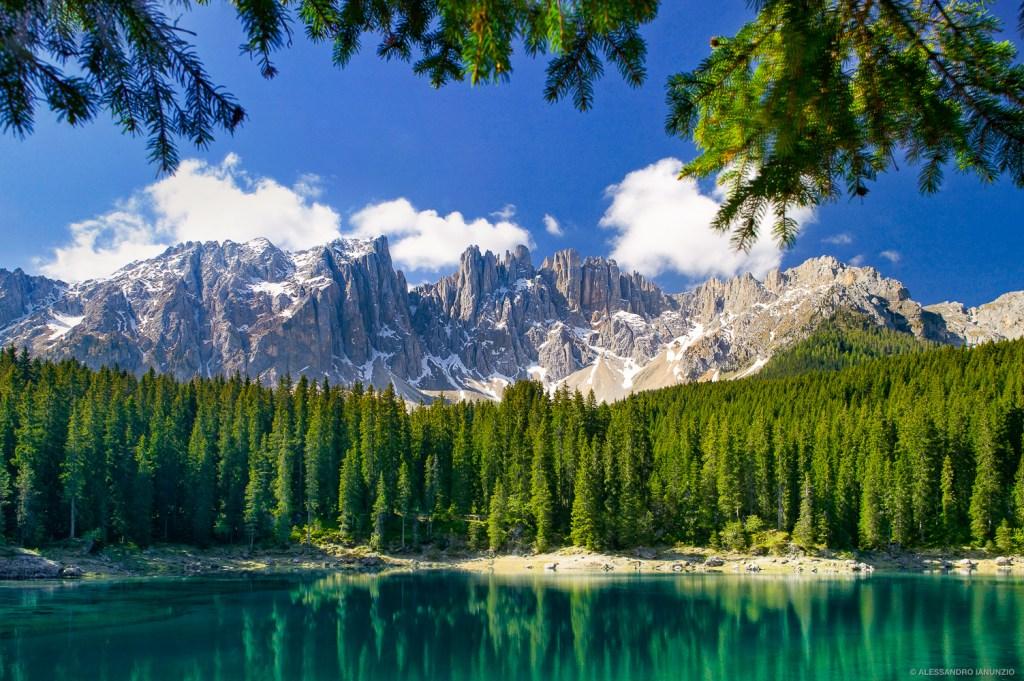 Lago di Carezza, Italia