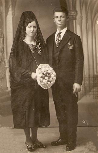 Pequeño apunte sobre la historia de las fotos de boda (2/4)