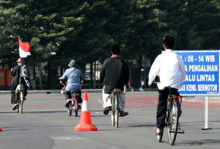 sepeda abadi + cinta tanah air