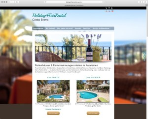 Holiday-4-Fair-Rental Website
