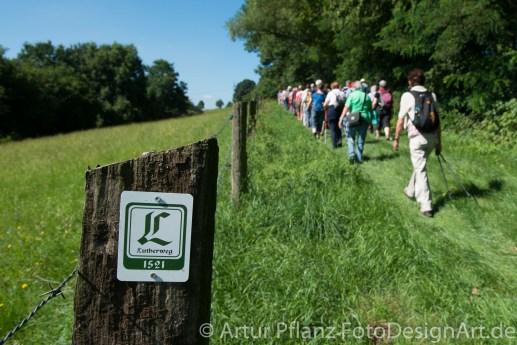 33 Eroeffnung Lutherweg1521 Bad Hersfeld_Foto_Artur Pflanz FotoDesignArt