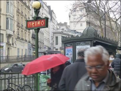 Regen, Paris 2013