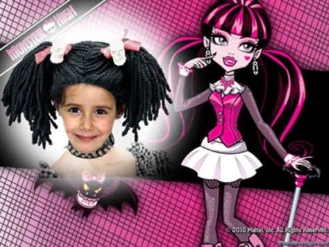 Marco para fotos de Monster High