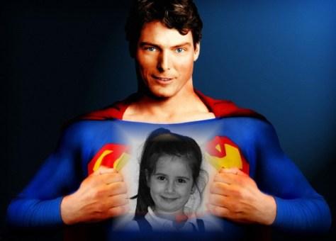 Fotomontajes de superhéroes