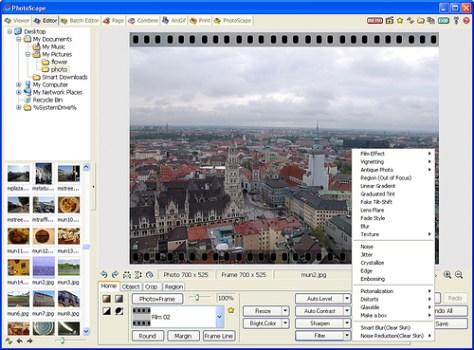 Programa para editar fotos Photoscape. Editor