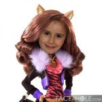 Fotomontajes Infantiles. Monster High Clawdeen Wolf
