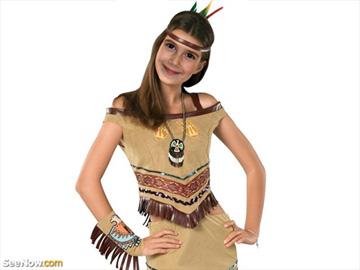 Disfraz india