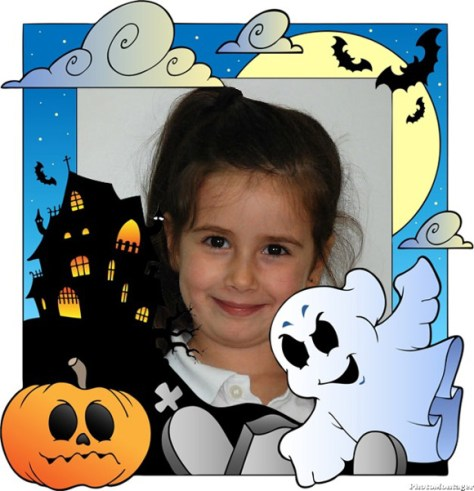 Marcos infantiles Halloween