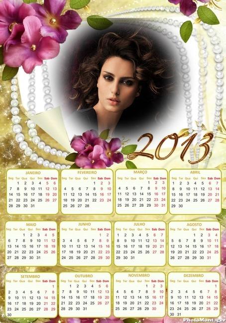 Calendario 2013 para fotos