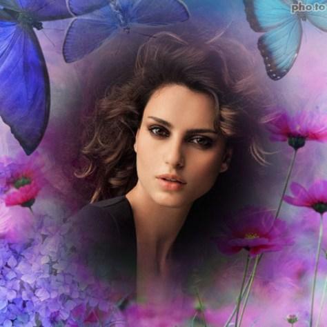 Fotoefectos con Flores y Mariposas