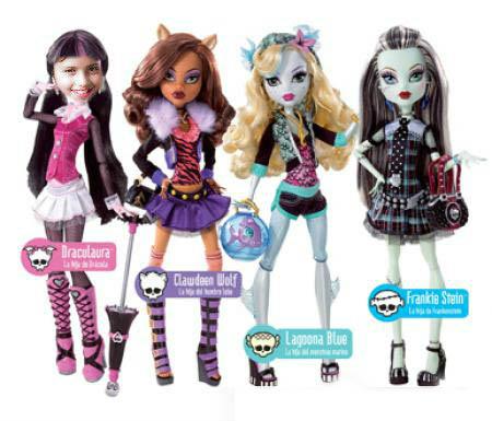 Hacer fotomontajes Monster High