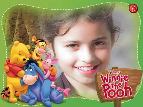 Marcos infantiles de Winnie the Pooh.
