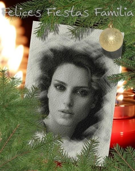 Fotos con efectos para Navidad.