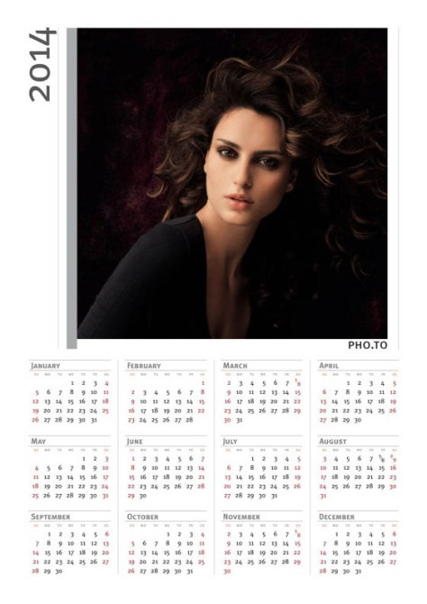 Montajes con Fotos Calendario 2014.