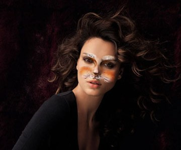 Fotomontaje Maquillaje Halloween.