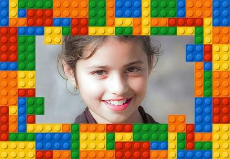 Marcos online con Piezas Lego.