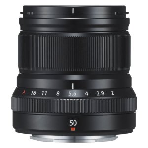 FUJINON XF 50mm f/2 R WR {Black)