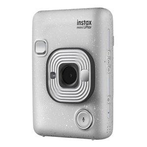 FUJIFILM INSTAX Mini LiPlay Hybrid Instant Camera {Stone White}