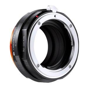 K&F M18115 Nikon G-FX PRO high precision lens adapter {Orange}