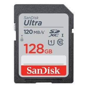 SanDisk Ultra 128GB SDHC 120MB/s C10 UHS-I Memory Card