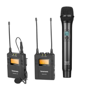 Saramonic UHF Wireless Microphone System UwMic9 Kit3