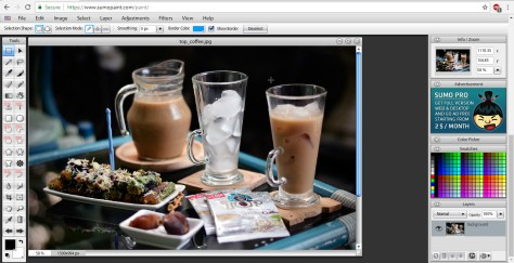 SumoPaint Online Image Editor