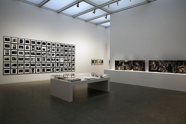 Blick in die Ausstellung in Essen