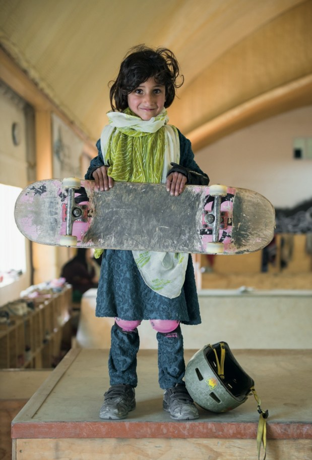 Copyright © 2015 Skate Girls Of Kabul by Jessica Fulford-Dobson