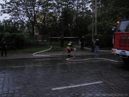 Pożar na Dąbrowskiego (IV)