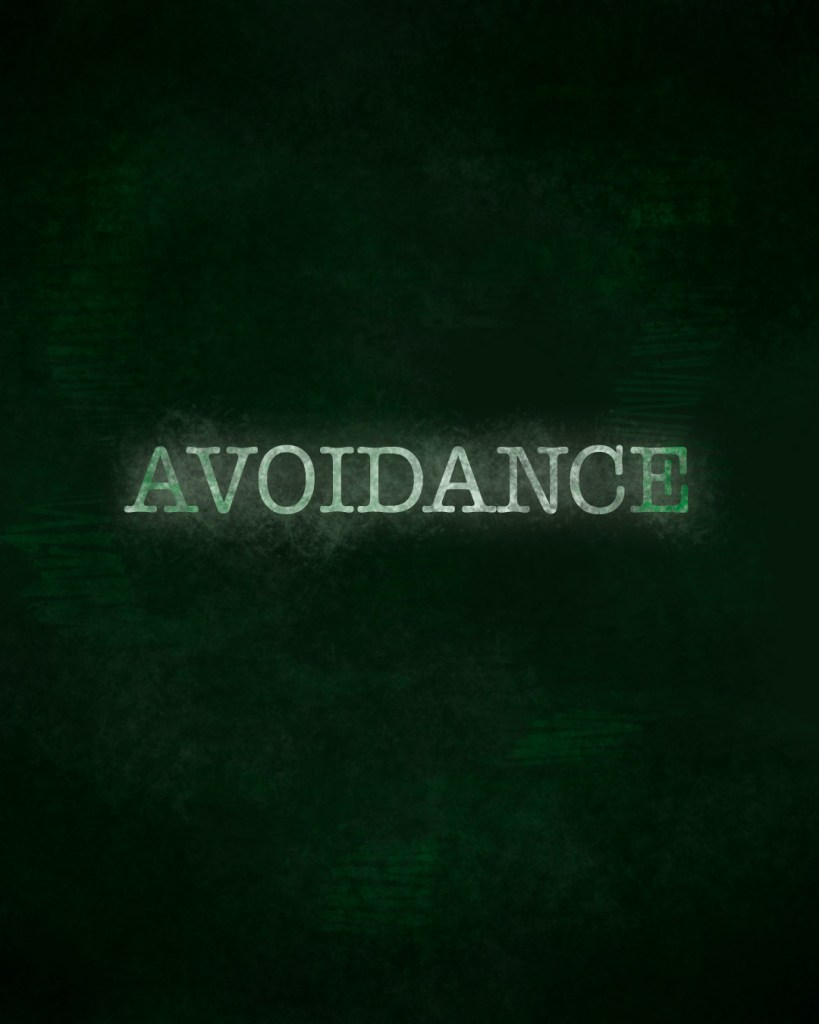 Avoidance quotes text word