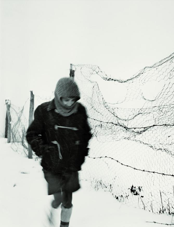 Alberto Schommer - el niño solo 1957