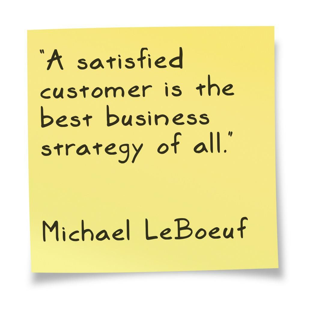 Client's satisfaction quote